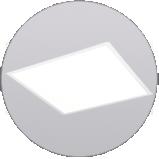 LED-PANEL-Einlegepanel-Rasterdecke