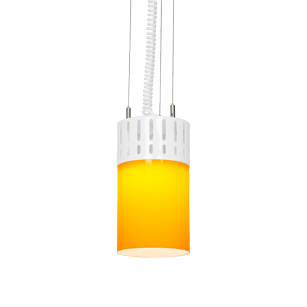 LED-Pendelleuchte-zur-energieeffizienten-Thekenbeleuchtung-THEKENPENDEL-TUBE-Orange-Weiss-LECAR