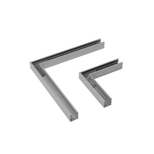 90°-Verbindungsstück-CARDANO®-PROFILSYSTEM-LECAR--Aluminium-Silber-307x307