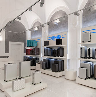 Shopbeleuchtung - Rimova Florenz