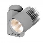 LED-Deckenanbaustrahler-LECAR-Mini-Tube-Generation-2-Aluminium-Silber