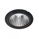 LED-Deckeneinbauleuchte-Downlight-für-umweltfreundliche-Beleuchtung-DLL195-Schwarz-LECAR