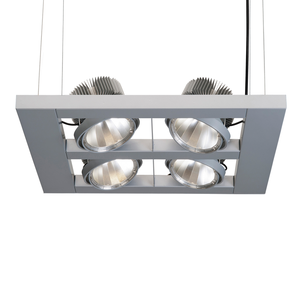 LED-Pendelleuchte-zur-energieeffizienten-Shopbeleuchtung-CARDANO-S4Q-Aluminium-Silber-LECAR