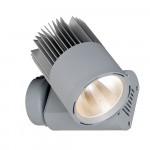 LED-Wandanbaustrahler-LECAR-Mini-Tube-Aluminium-Silber-Generation-2