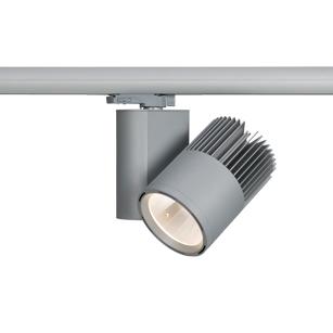 LED-Aufbaustrahler-für-3-Phasen-Stromschiene-MINI-TUBE-Silberne-Energieeffiziente-Aufbauleuchte-LECAR